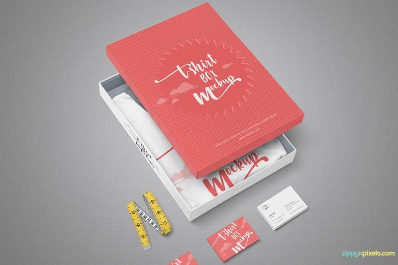free download fashion branding design mockup in psd