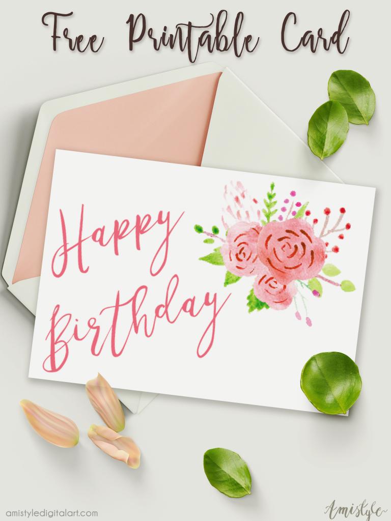 free printable personalized birthday cards printable