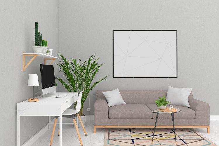 interior mockup blank wall mock up 36305 mock ups