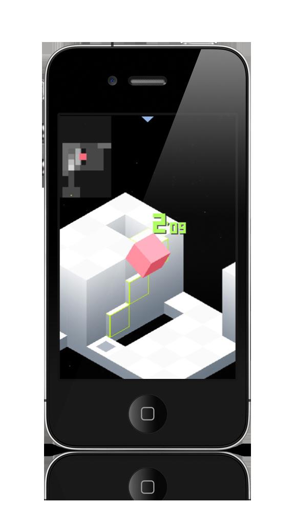 fileedge video game gameplay mockup on vertical iphone