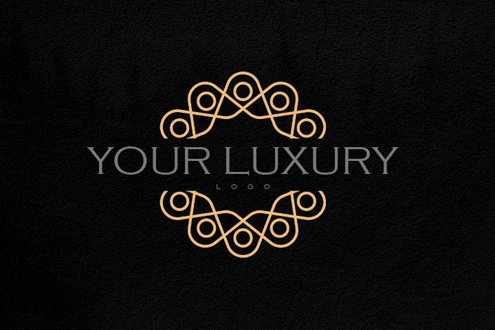 luxury logo design on behance