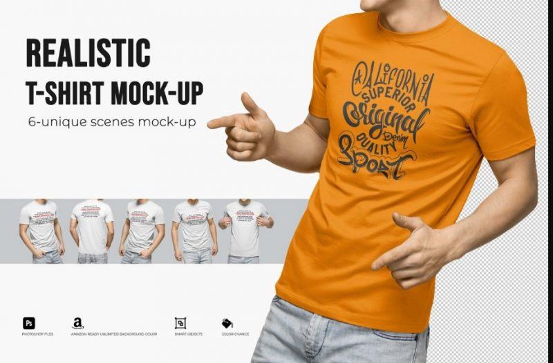 32 mens t shirt mockup psd free premium download