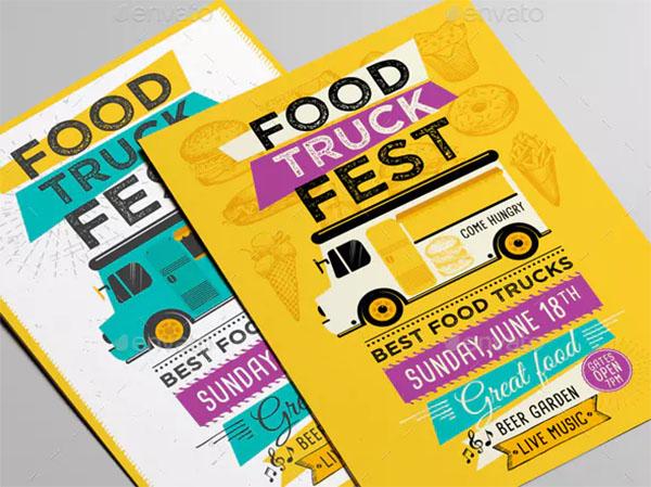 33 food truck menu template free premium psd vector