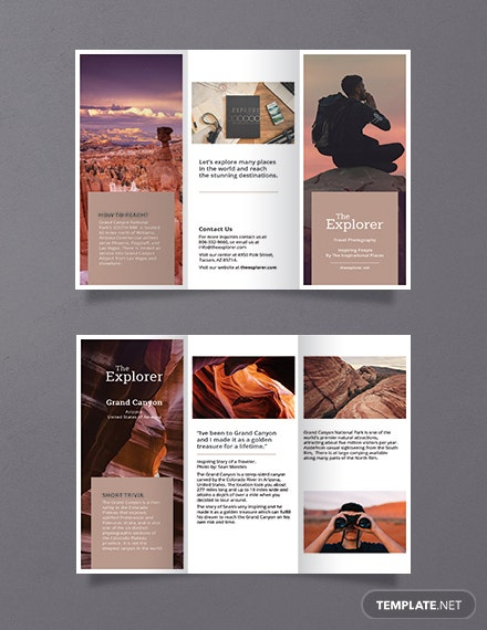 free a5 brochure template download 281 brochures in psd