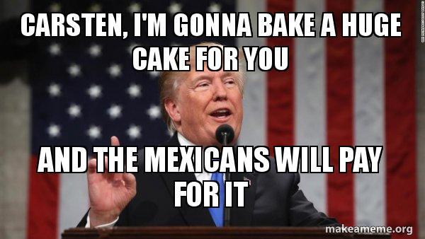 huge happy birthday trump meme