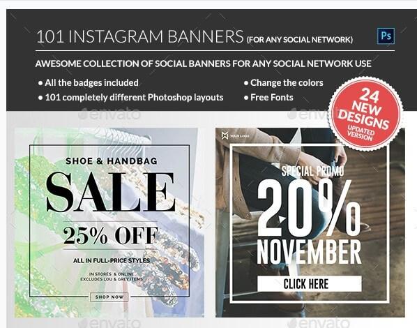 instagram banners promo useful blogging