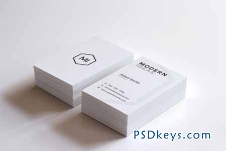 minimal business card template 85957 free download