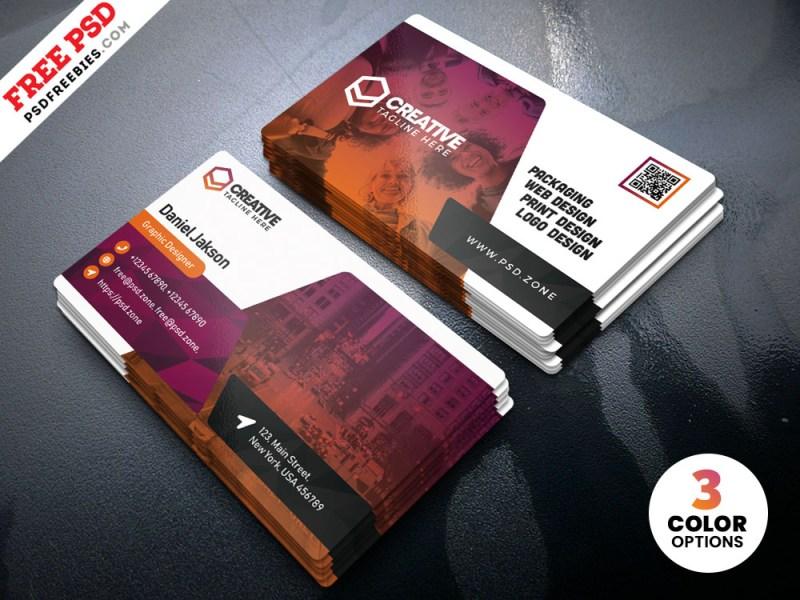 psd creative business card templates psdfreebies