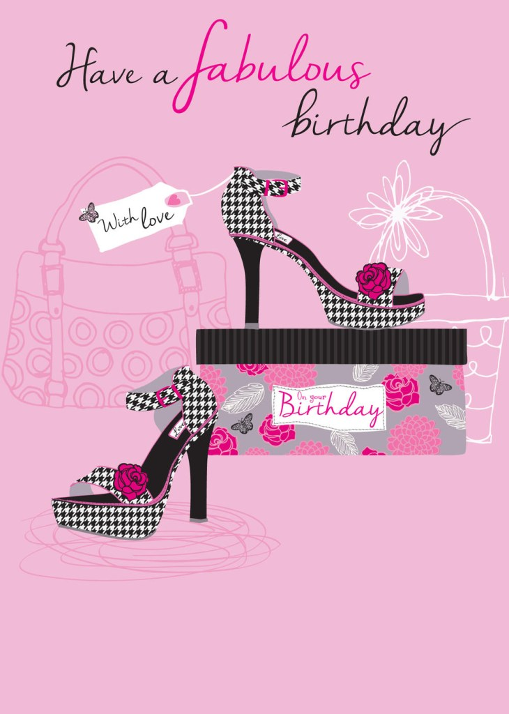 have a fabulous birthday greeting card cards