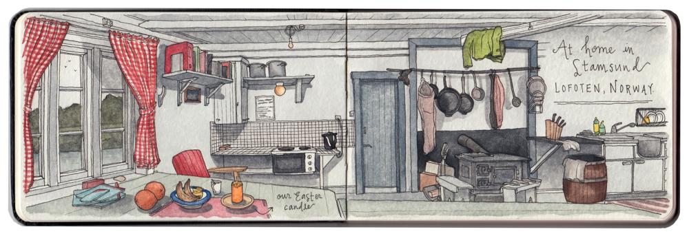 Candace Rose Rardon sketches