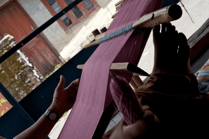 Woven and spun: An NGO at work in Nepal.