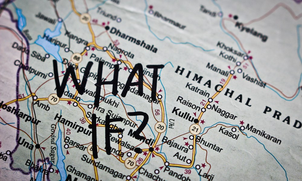 Dharamsala or bust: Notes on the wonder of 'what if?'