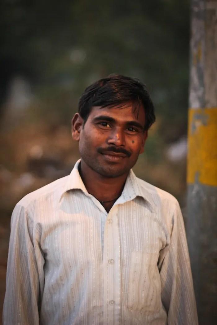 Flower seller in India