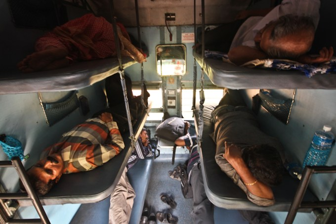 Sleeper class in India
