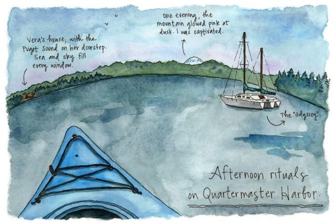 Vashon Island sketches