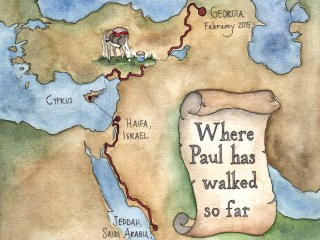 Illustrated maps for BBC Travel Pioneers