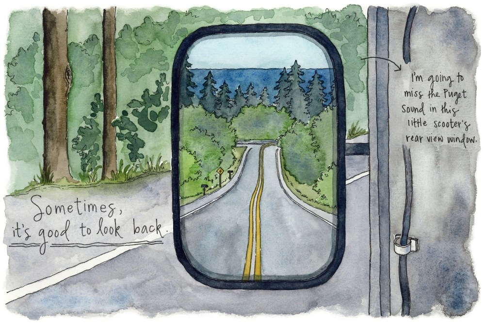 Pacific Northwest sketches