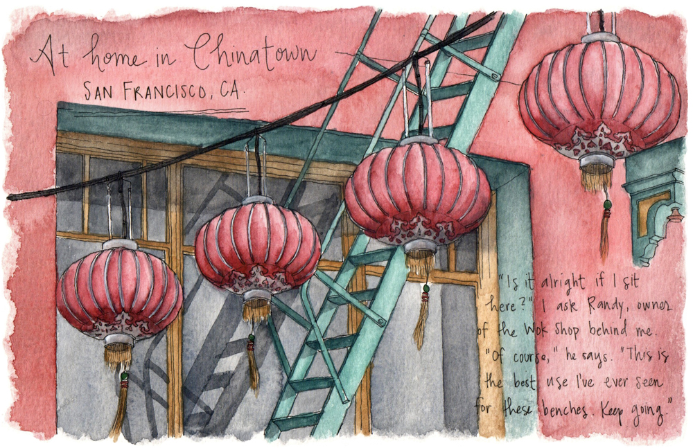 Travel sketches of San Francisco
