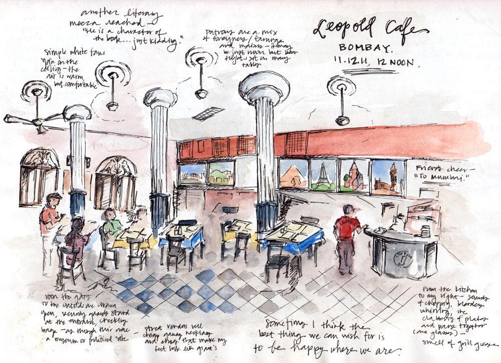 Travel sketch India
