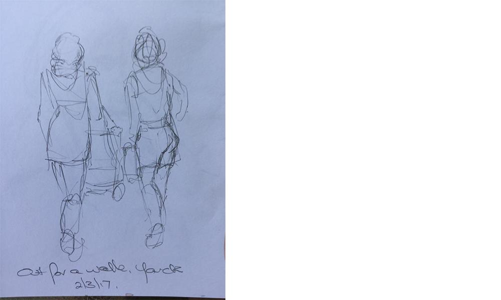 Moment Catchers sketching challenge