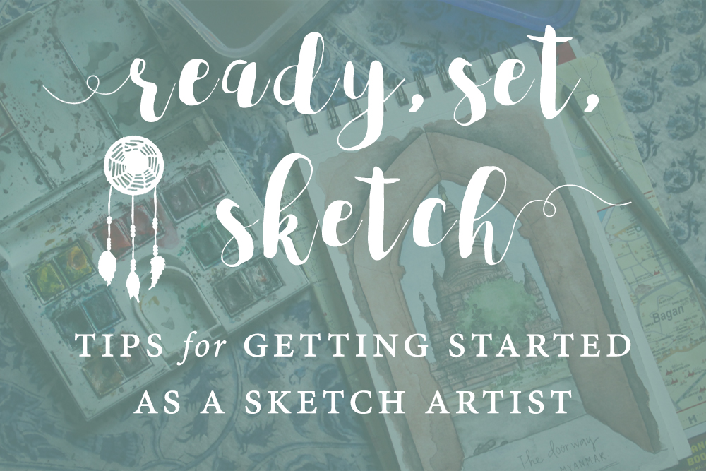 getting started as a sketch artist