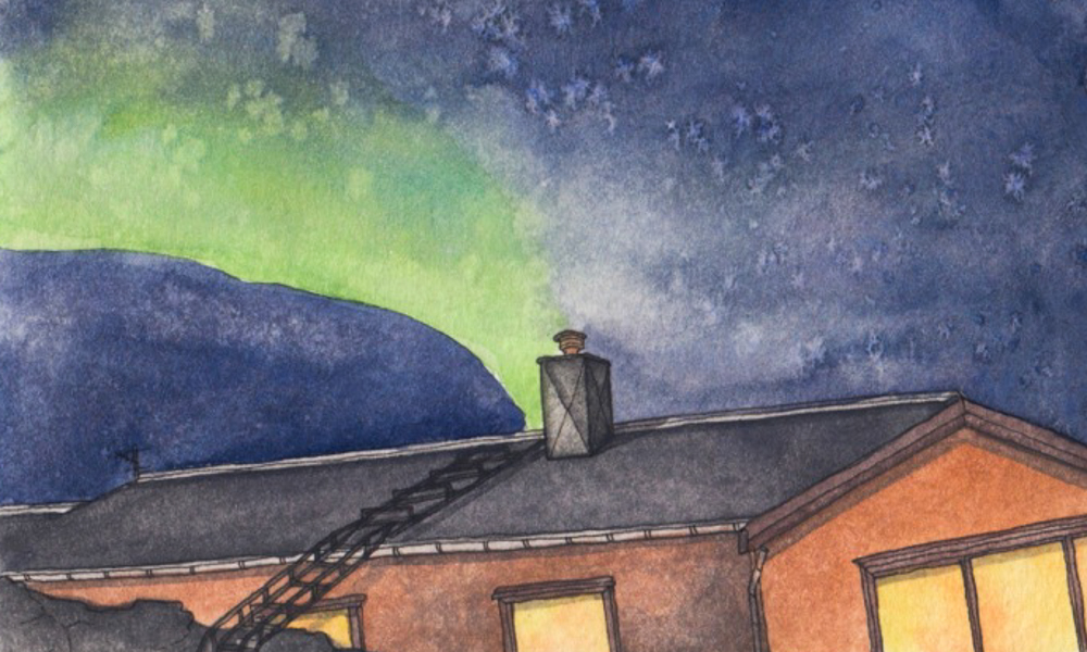 Sketching the Northern Lights: In praise of being astonished