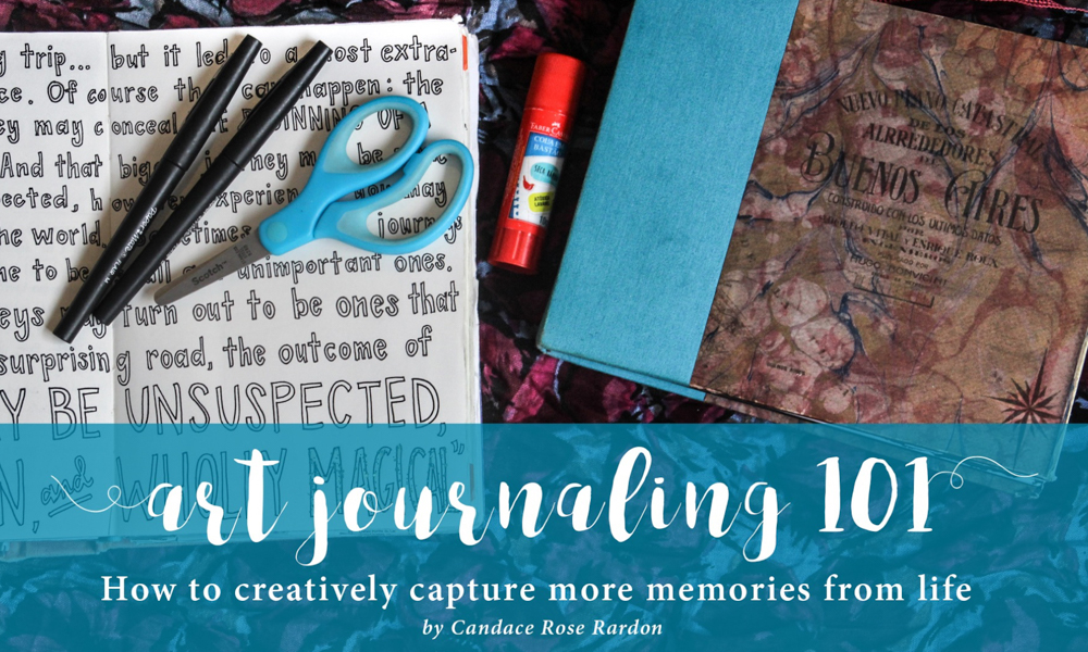 Art Journaling 101: Official eBook launch – and giveaway!