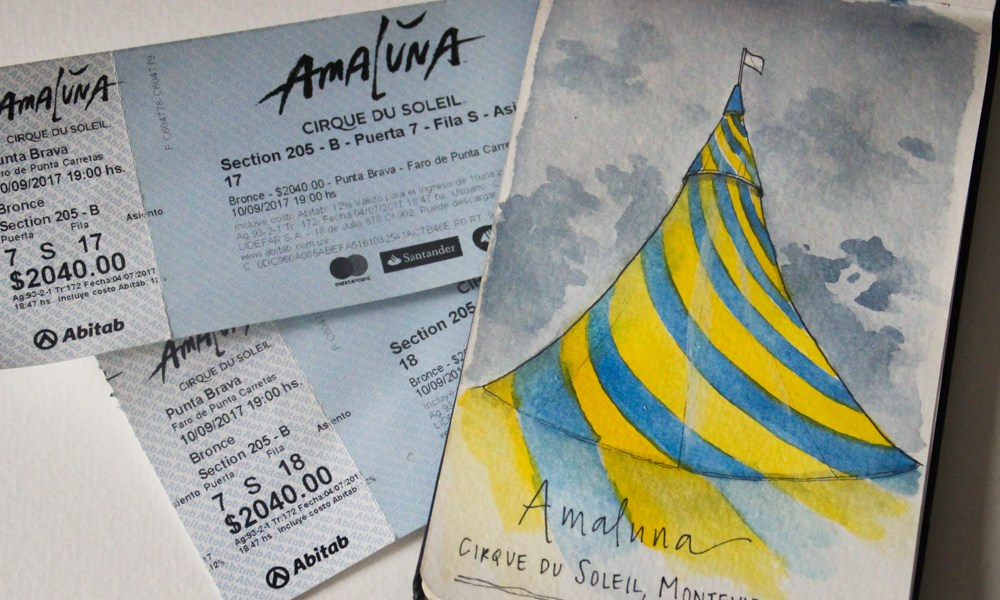 Sketching Cirque du Soleil: Drawing inspiration from the big top