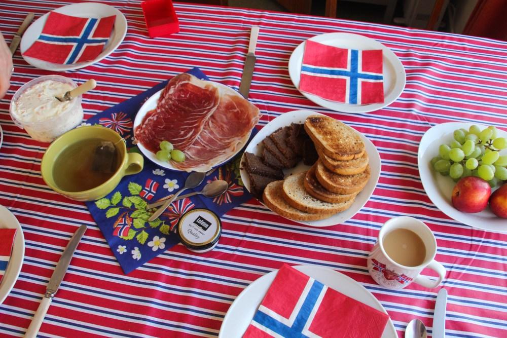 Norway Day breakfast