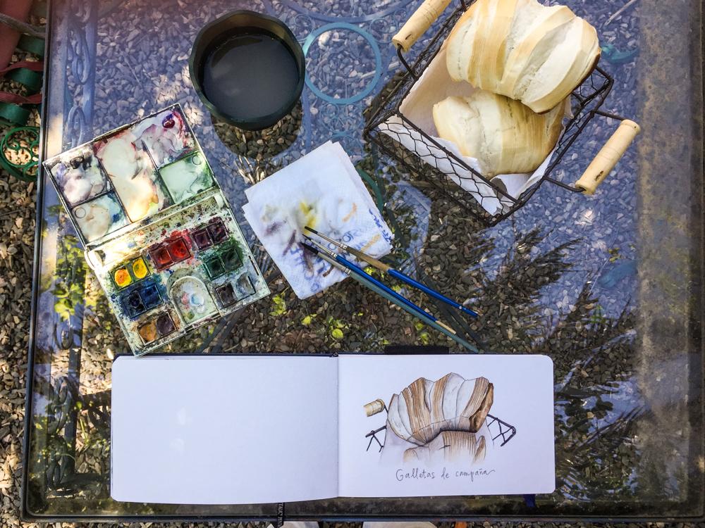 Sketching in Uruguay