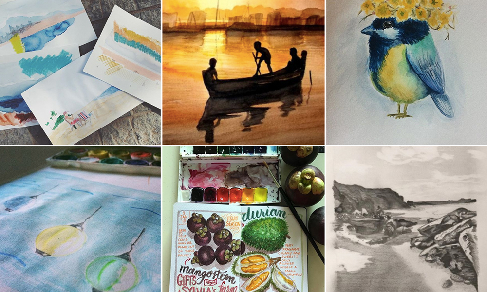 Moment Sketchers Project: Sharing our sketches – January 2018