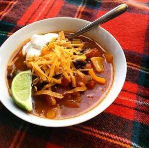 Black Bean Chipotle Soup