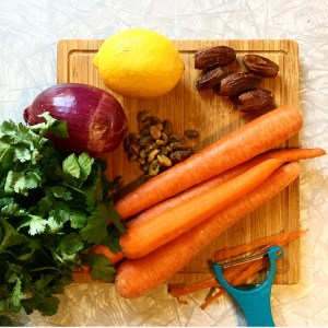 Moroccan-Inspired Carrot Salad