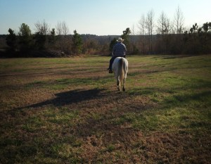 Darrell riding