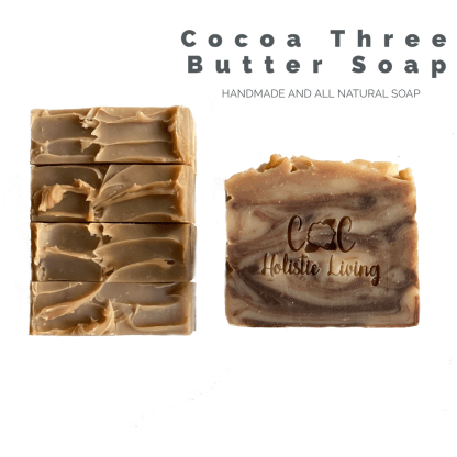 Shea Butter, Mango Butter, Cocoa Butter Soap