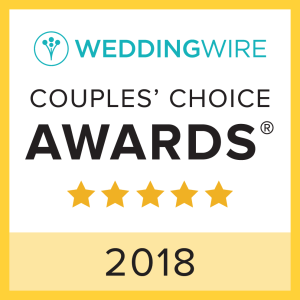 2018 Wedding Wire Couple's Choice Award