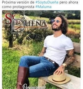 Foto de Maluma provoco burlas en redes sociales 4