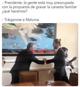 meme maluma 8