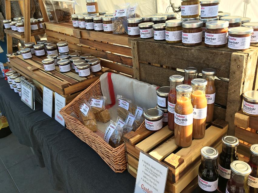 marmelad, chutney, inläggningar, Bondens marknad, slånbärssaft