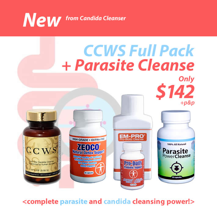 Complete candida & parasite cleanse | Candida Cure Center
