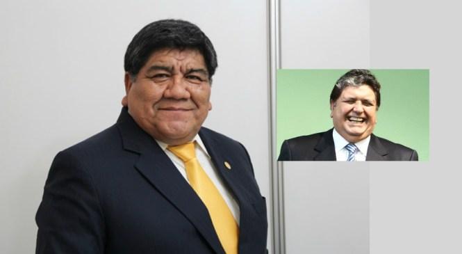 Rómulo Mucho: Alan García ha robado mucho, no seamos masoquistas