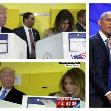 Viral: ¿Por quién votó la esposa de Donald Trump?