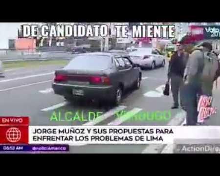 "Alcalde Jorge Muñoz llama ""lacras"" a transportistas"