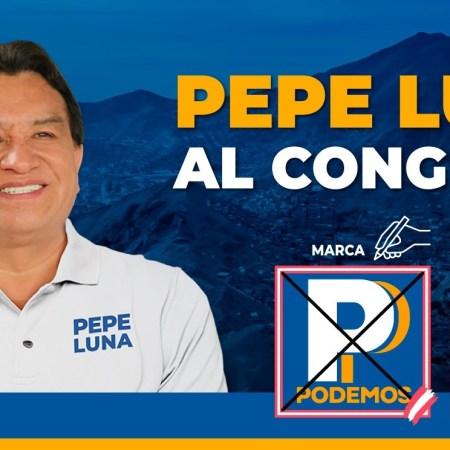 Encuesta DATUM – Pepe Luna lidera preferencias en Lima en Podemos Perú
