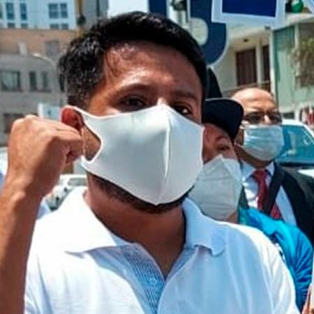 Candidato Gorbak Infantes refirmó su compromiso para trabajar por la devolución de 100% de las AFP