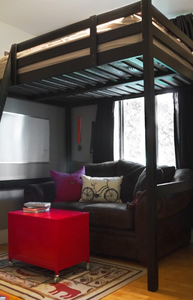 Interior photography teen room
