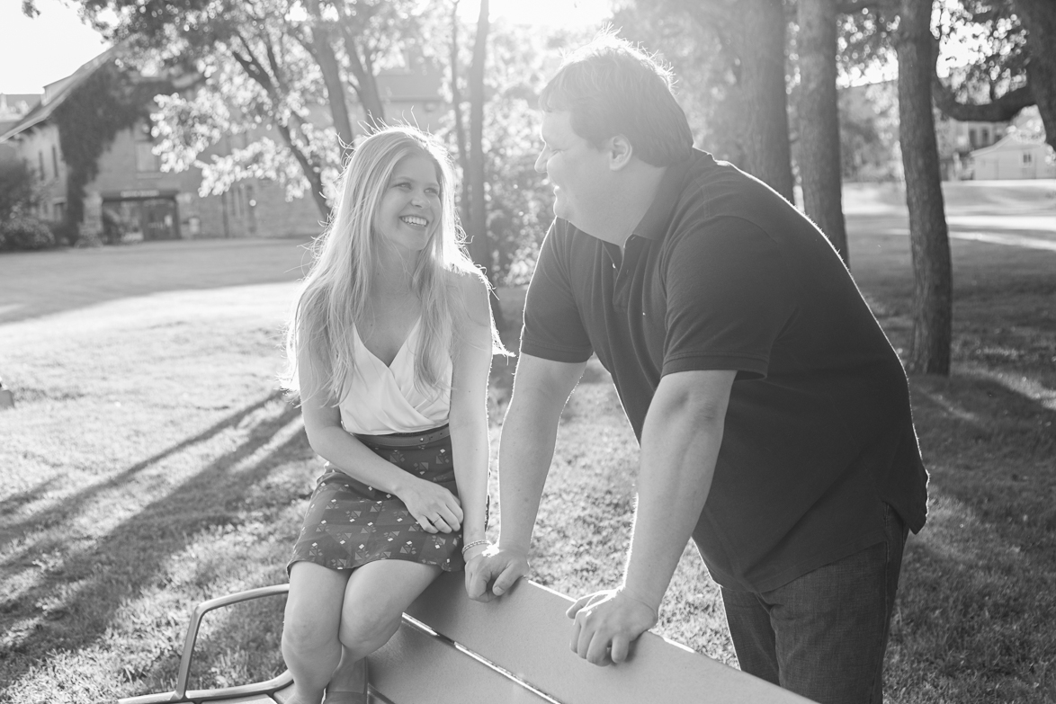 Karina and Werner's Fun Engagement in Sainte-Anne-de-Bellevue
