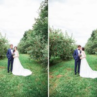 Kayla and Stuart's Romantic Wedding at La Champenoise
