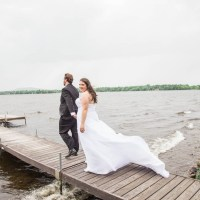 A Beautiful Faith and Family-Centered Wedding at Hôtel Suites Lac-Brome