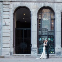 An Elegant Sophisticated Rooftop Wedding at Hotel Place d'Armes